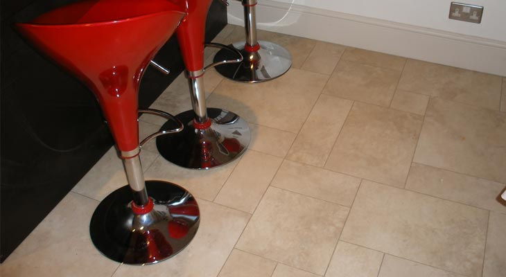 Stone effect vinyl flooring fitted in Horsham