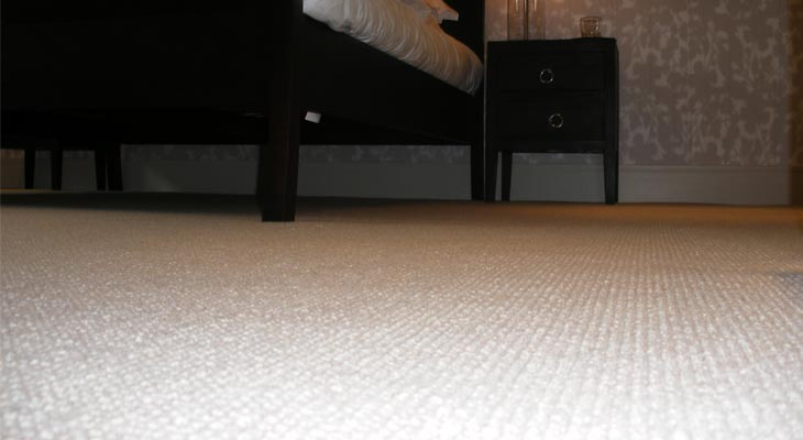 Wool carpet in Horsham bedroom