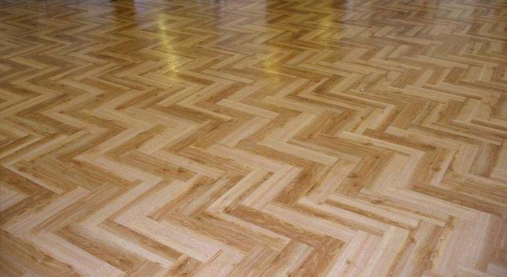 Amtico flooring fitted in London school