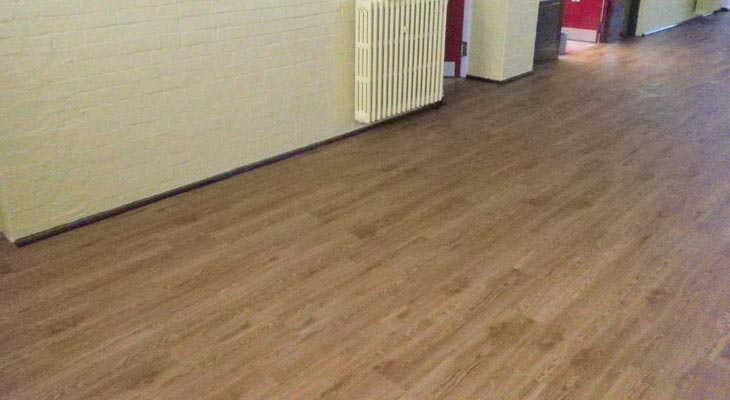 Perfect vinyl floor finish
