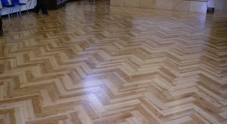 Flooring for school halls in London