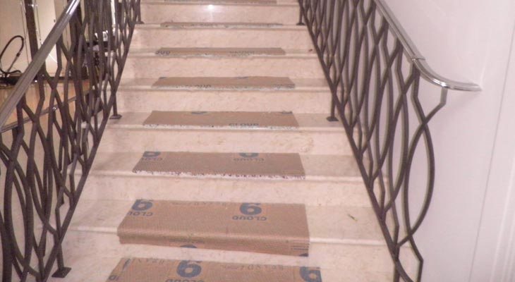 Weybridge stair runner underlay