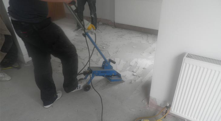 Specialist tools to uplift existing ceramic tiles