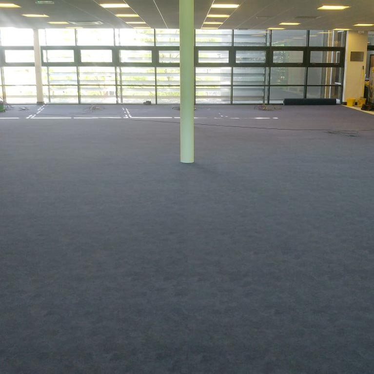 Library flooring in Godalming