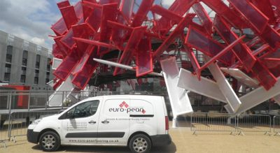 Flooring for Coca Cola at the Olympic Site Featured Image