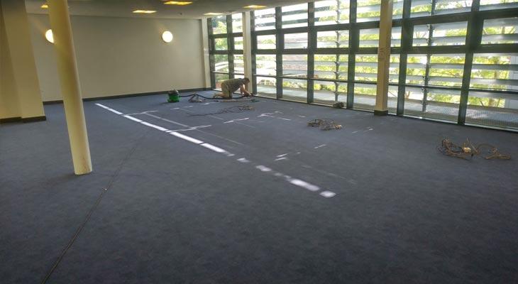 Library Flooring In Godalming Surrey Euro Pean Flooring
