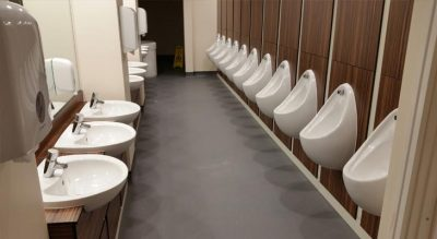 Toilet Flooring at Ascot Race Course